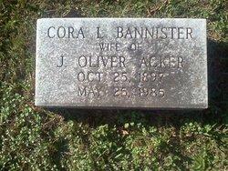 Cora Lee <i>Bannister</i> Acker