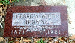 Georgia <i>White</i> Browne