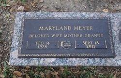 Maryland Marie <i>Painter</i> Meyer