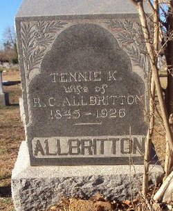 Tennessee K <i>Massengill</i> Albritton