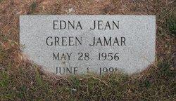 Edna Jean <i>Green</i> Jamar