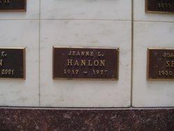 Jeanne L. Hanlon
