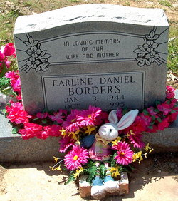 Earline <i>Daniel</i> Borders
