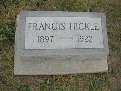 Frances <i>Allison</i> Hickle