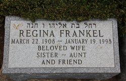 Regina <i>Rosengarten</i> Frankel