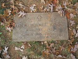 Lola Nana <i>Holmes</i> Adams