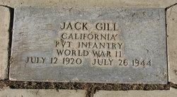 Pvt Jack Gill