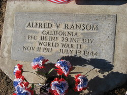 PFC Alfred V. Ransom