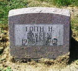Edith H. Bakken