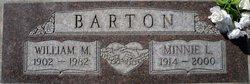 Minnie L. <i>Ward</i> Barton