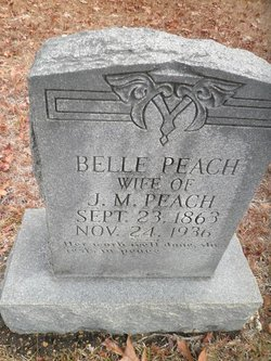 Isabelle Hodge Belle <i>Peach</i> Peach