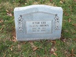Jessie Lee <i>Allen</i> Brown