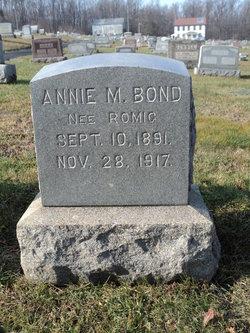 Annie M <i>Romig</i> Bond