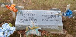 Edith Florabell <i>Savage</i> Danielson