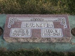 Alice <i>Redd</i> Tackett