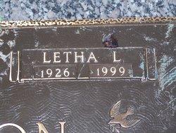 Letha Lahoma <i>Roberts</i> Newton