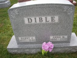 Anna May <i>Hickle</i> Dible