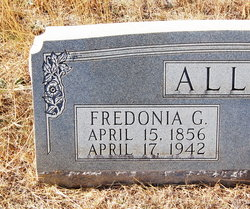 Fredonia <i>Garner</i> Allen