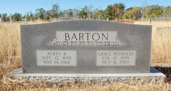 Grace Myrta Mae <i>Reynolds</i> Barton