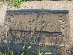 Edna Christina <i>Nelson</i> Axelson