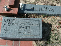 Joyce Nyoka <i>Parrish</i> Boyette