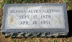 Agatha Monica Aggie <i>Alvey</i> Gatton