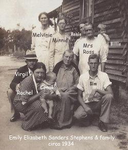 Emily Elizabeth <i>Sanders</i> Stephens