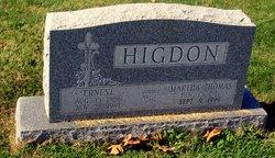 Martha Catherine <i>Thomas</i> Higdon