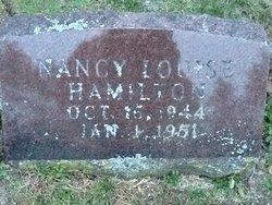 Nancy Louise Hamilton