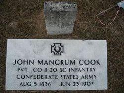 John Mangrum Cook