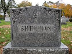 Alice M <i>HIGGINS</i> Britton