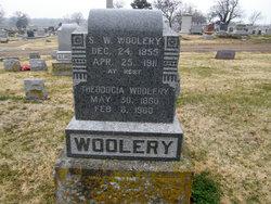 Theodocia E <i>Tomlinson</i> Woolery