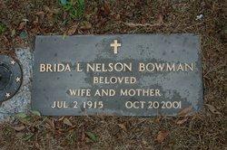 Brida <i>Nelson</i> Bowman