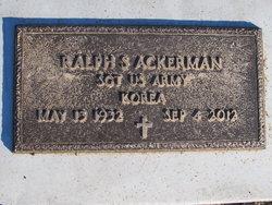 Sgt Ralph Sheldon Ackerman