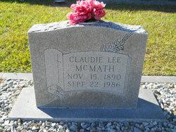Claudie Lee <i>Collins</i> McMath