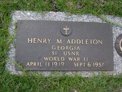Henry Marvin Addleton