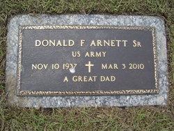 Donald F. Don Arnett, Sr