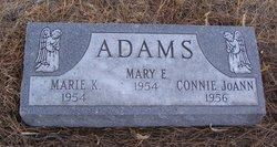 Marie K Adams
