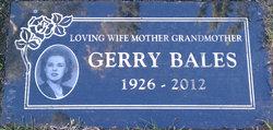 Gerry Bales