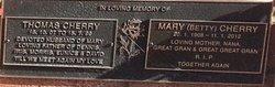 Mary Betty Cherry