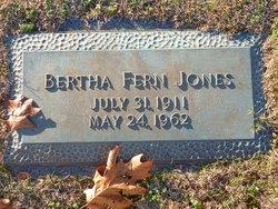 Bertha Fern Jones