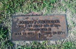 Joseph Frank Ackerman