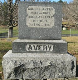Julia A <i>Little</i> Avery