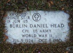 Burlin Daniel Head
