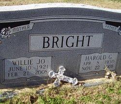 Harold G Bright