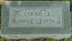 Sarah J Sadie <i>Brisbois</i> Garvin