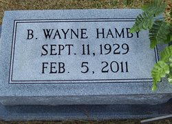 Buford Wayne Hamby, Jr