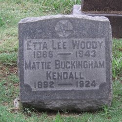 Mattie Buckingham Kendall
