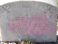 Lizzie <i>Martin</i> Basco
