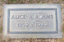 Alice A. <i>Ash</i> Adams
